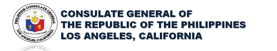 Philippine Consulate General Los Angeles California