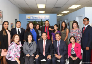Consul General Cruz Meets with the Fil-Am Youth in San Diego