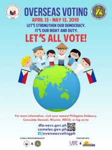 Overseas Voter Information – Philippine Consulate General Los